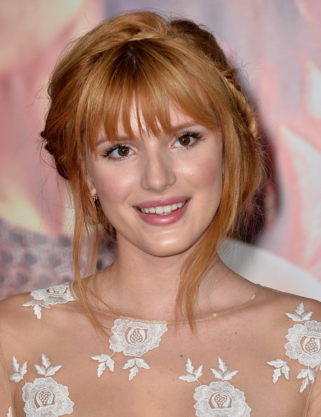 More Pics of Bella Thorne Braided Updo (1 of 16) - Bella Thorne Lookbook - StyleBistro