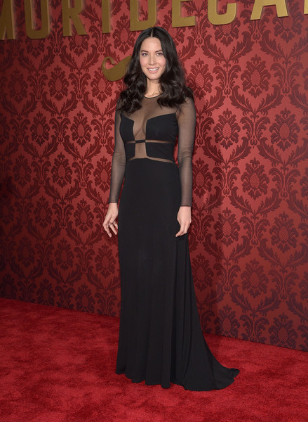 In Chado Ralph Rucci At The 'Mortdecai' Premiere