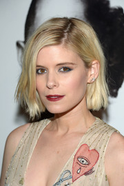 Kate Mara stuck to her signature bob when she attended the premiere of 'Man Down.'