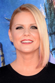 Carrie Keagan went for modern, trendy styling with this asymmetrical cut at the 'Guardians of the Galaxy' premiere.