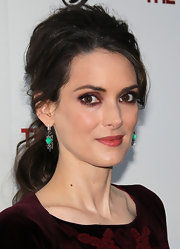 Winona Ryder looked sultry at the 'Iceman' premiere with her smoky eyes.