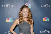 Actress Jennifer Ferrin arrives at the premiere of NBC's