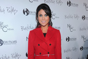 Actress Nadia Bjorlin arrives to the premiere of New Films Cinema's