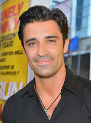 Gilles Marini looked supremely styled with his hair slicked-back for a film premiere in LA.