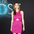 Alexandra Daddario Wore Jay Godfrey at 'The Host' Hollywood Premiere