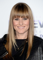Amy Astley wore a cute straight 'do with blunt bangs when she attended the premiere of 'Justin Bieber's Believe.'