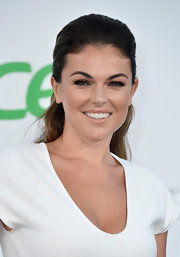 Serinda looked nothing short of flawless at the 'Star Trek Into Darkness' premiere where she sported a teased half up, half down 'do.