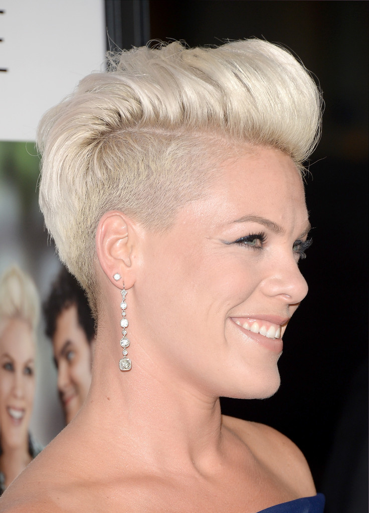 More Pics Of Pink Fauxhawk (38 Of 56)