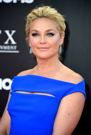 Elisabeth Rohm swept her hair back into a loose updo for the premiere of 'Bad Moms.'