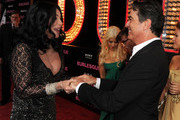Peter Gallagher and Christina Aguilera Photo