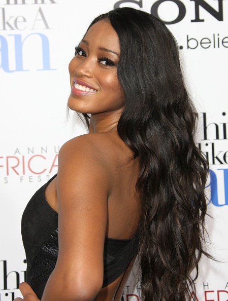 More Pics of Keke Palmer Pink Lipstick (1 of 5) - Keke Palmer Lookbook - StyleBistro