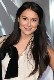 Alexa Vega wore her super-shiny tresses long and straight at the premiere of 'Underworld: Awakenings.'