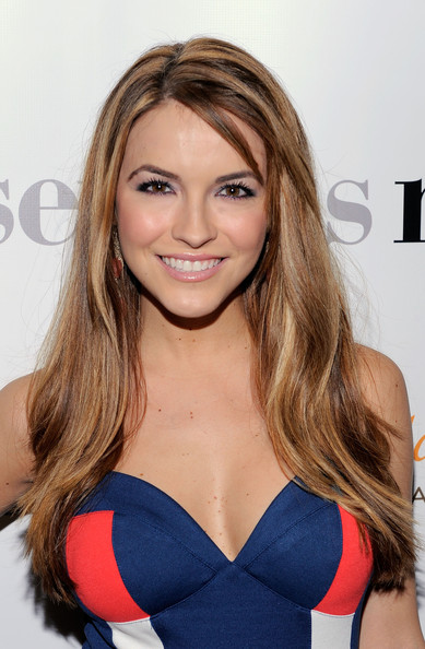 More Pics of Chrishell Stause Mini Dress (2 of 2) - Dresses & Skirts Lookbook - StyleBistro [hair,face,blond,hairstyle,brown hair,long hair,beauty,lip,shoulder,premiere,arrivals,chrishell stause,serious moonlight,cinema 2,new york city,premiere,premiere]