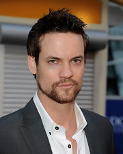 Shane West styled his hair in an edgy spiked 'do for the premiere of 'Skateland.'