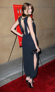 For the 'Damsels in Distress' premiere, Maggie Grace stepped out in the coolest cutout jumpsuit. Ever.