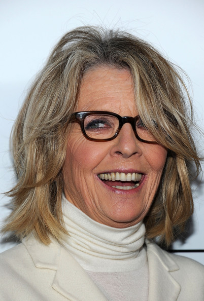 Diane Keaton\'s Choppy Layers - Haute Hairstyles for Women Over 50 ...