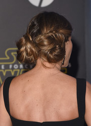 Sofia Vergara paid a glamorous homage to Princess Leia with this pair of buns at the 'Star Wars: The Force Awakens' premiere.
