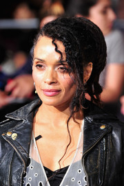 Lisa Bonet was grunge-cool with her dreadlocks at the 'Divergent' premiere.