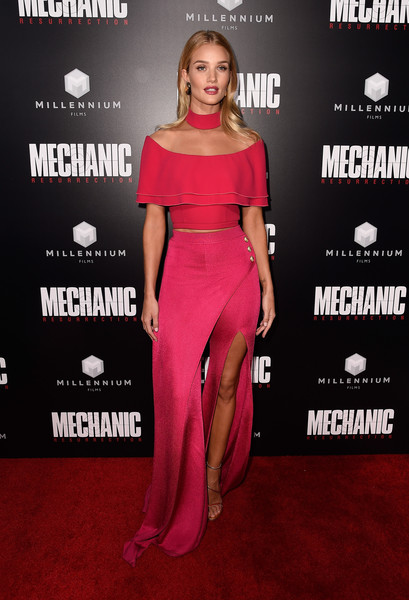 Look of the Day: August 23rd, Rosie Huntington-Whiteley