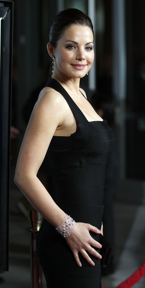 More Pics of Erica Durance Little Black Dress (4 of 6) - Erica Durance Lookbook - StyleBistro