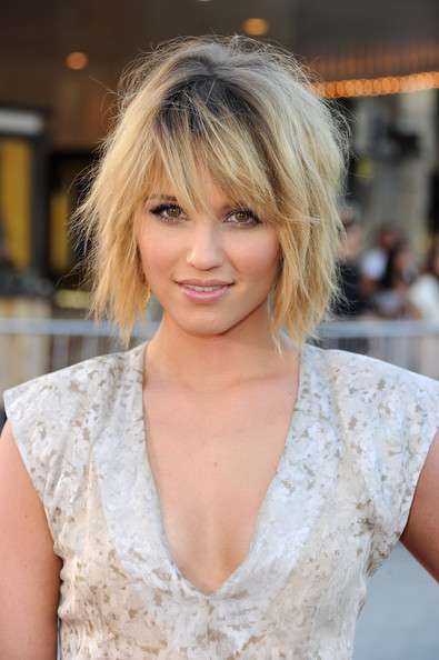 More Pics of Dianna Agron Bob (8 of 17) - Short Hairstyles Lookbook - StyleBistro