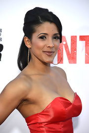 Doris Morgado took her ponytail to a whole new level at the premiere of 'The Internship.'