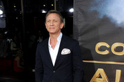 Actor Daniel Craig attends the Premiere of Universal Pictures