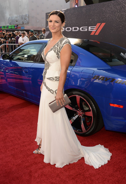 More Pics of Gina Carano Fishtail Dress (1 of 4) - Gina Carano Lookbook - StyleBistro