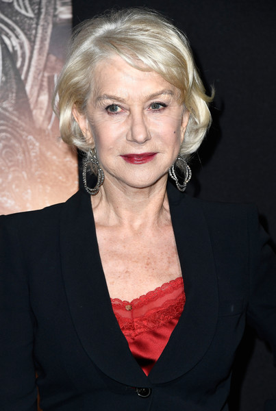 More Pics of Helen Mirren Slacks (2 of 9) - Pants & Shorts Lookbook - StyleBistro [hair,face,blond,hairstyle,eyebrow,beauty,lip,chin,premiere,long hair,arrivals,helen mirren,the great wall,california,hollywood,universal pictures,tcl chinese theatre imax,premiere,premiere]