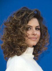 Maria Menounos looked downright darling wearing this voluminous curly 'do at the premiere of 'Sing.'