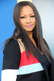 Garcelle Beauvais sported stylish flat-ironed hair at the premiere of 'Sing.'