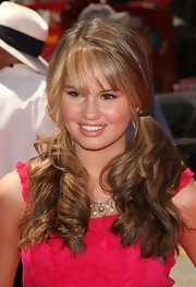 Debby rocked low pigtails at the premiere of 'G-Force'.