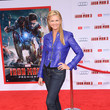 Nancy O'Dell at the 'Iron Man 3' Hollywood Premiere