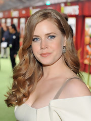 Amy Adams wore a pair of oxidized sterling silver and rose cut diamond earrings at the premiere of 'The Muppets.'