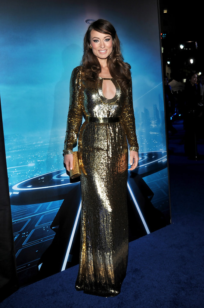 "Actress Olivia Wilde arrives at Walt Disney&squot;s ""TRON: Legacy"" World Premiere held at the El Capitan Theatre on December 11, 2010 in Los Angeles, California."