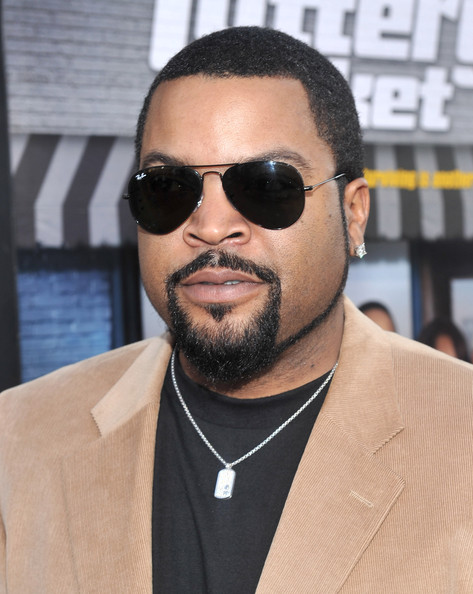 Ice Cube showed off her his classic aviator shades.