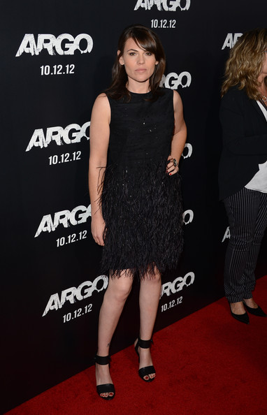 More Pics of Clea DuVall Medium Straight Cut with Bangs (1 of 11) - Medium Straight Cut with Bangs Lookbook - StyleBistro