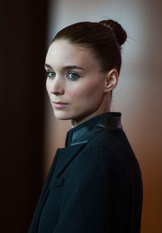 Rooney Mara was a stark beauty with this tight bun during the premiere of 'Her' in LA.