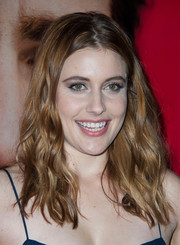 Greta Gerwig opted for messy waves when she attended the LA premiere of 'Her.'