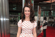 Actress Kristin Davis arrives to the premiere of Warner Bros. Pictures'