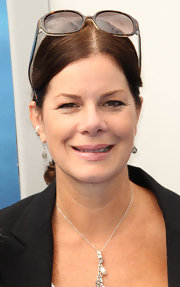 Marcia Gay Harden had a pair of sunnies on her head at the 'Dolphin Tale' premiere.