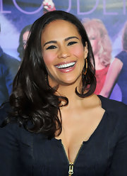 Paula Patton wore her lustrous locks in pretty soft curls at the premiere of 'Joyful Noise.'
