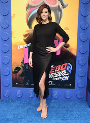 Cobie Smulders opted for a simple black crewneck sweater when she attended the premiere of 'The Lego Movie 2: The Second Part.'