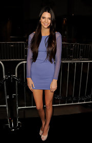 Kendall Jenner showed off her enviable stems in this super-short lilac dress at the 'Project X' premiere.