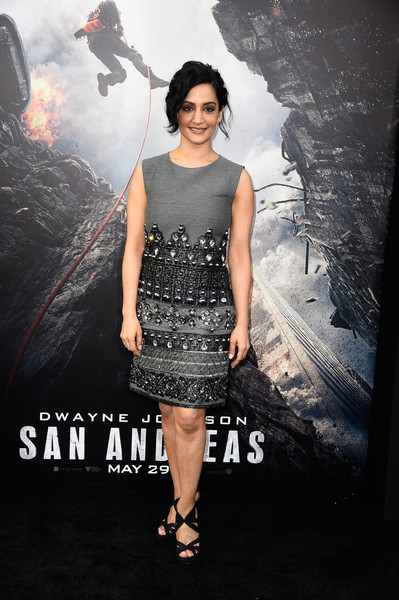 More Pics of Archie Panjabi Strappy Sandals (1 of 2) - Archie Panjabi Lookbook - StyleBistro