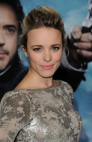 Rachel McAdams wore a pair of dewy pale pink lipstick at the premiere of 'Sherlock Holmes: A Game of Shadows.'