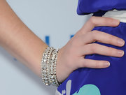 Sarah Drew wore beautiful diamond bracelets to the premiere of 'Something Borrowed.'