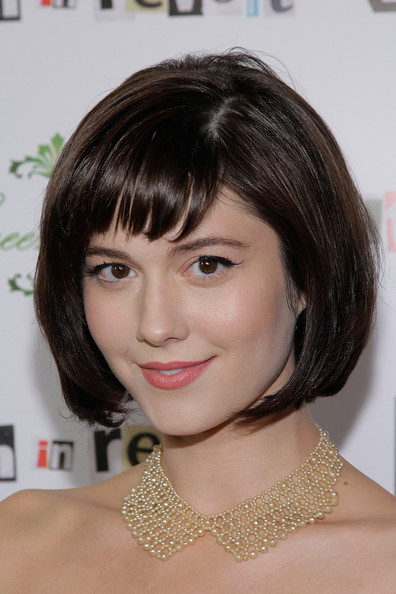 More Pics of Mary Elizabeth Winstead Bob (1 of 6) - Short Hairstyles Lookbook - StyleBistro [youth in revolt,hair,face,hairstyle,eyebrow,chin,bob cut,forehead,bangs,lip,brown hair,arrivals,mary elizabeth winstead,california,los angeles,mann chinese,premiere,premiere,the weinstein company film ``youth in revolt]