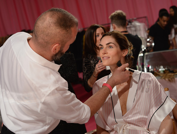 Preparation for the Victoria's Secret Fashion Show