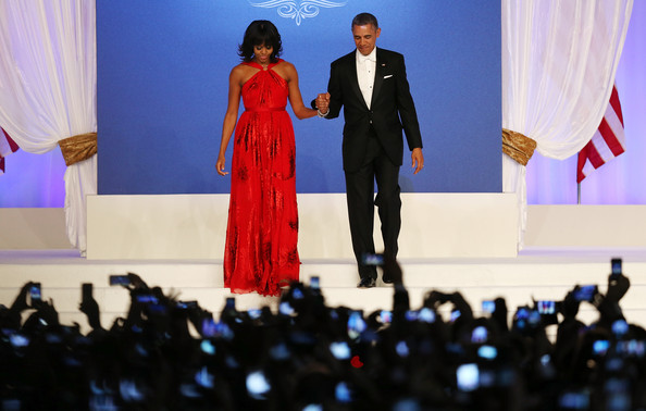 More Pics of Michelle Obama Evening Dress (1 of 131) - Michelle Obama Lookbook - StyleBistro